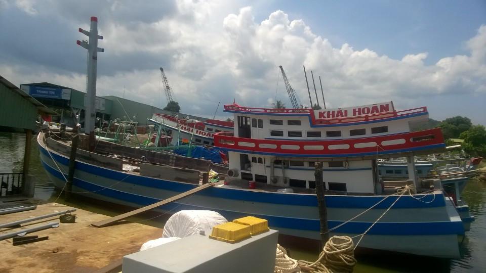 Cung cấp máy chính cho tàu cá vỏ gỗ