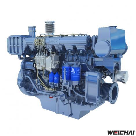 Động cơ thủy trung tốc model 170