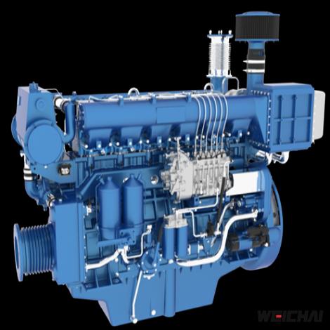 Động cơ thủy trung tốc model 6160