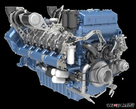 Động cơ thủy model 12M33