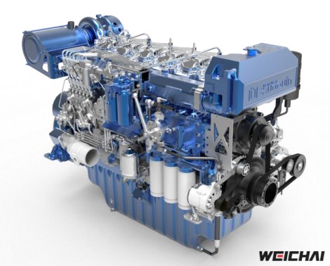 Động cơ thủy model 6M33