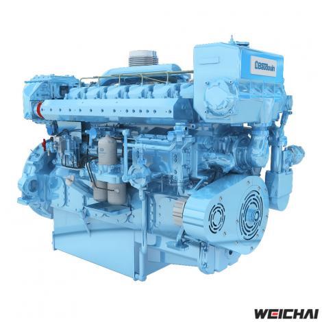 Động cơ thủy 12M26.3 *MỚI *