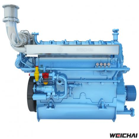 Động cơ thủy trung tốc model CW6200 / 8200