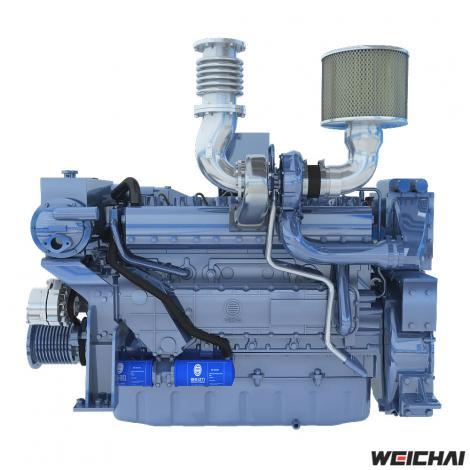 Động cơ thủy model WD10