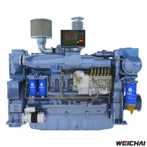 Động cơ thủy model WD12