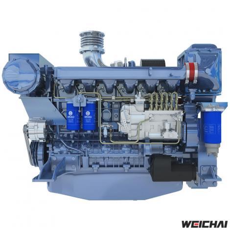Động cơ thủy model WP12
