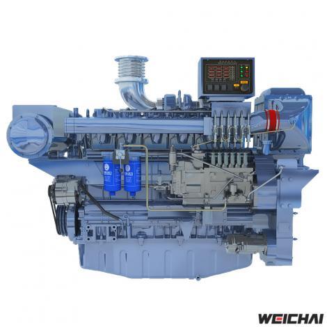 Động cơ thủy model WP13