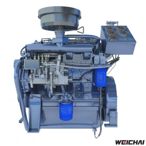 Động cơ thủy WP2.1 / WP4.1
