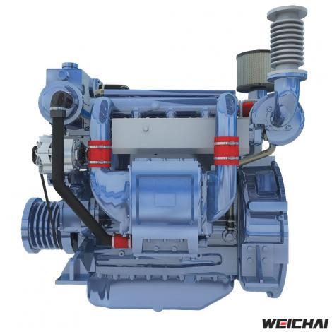 Động cơ thủy model WP4