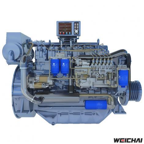 Động cơ thủy model WP6